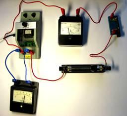 Какую силу тока покажет амперметр в изображенной на рисунке